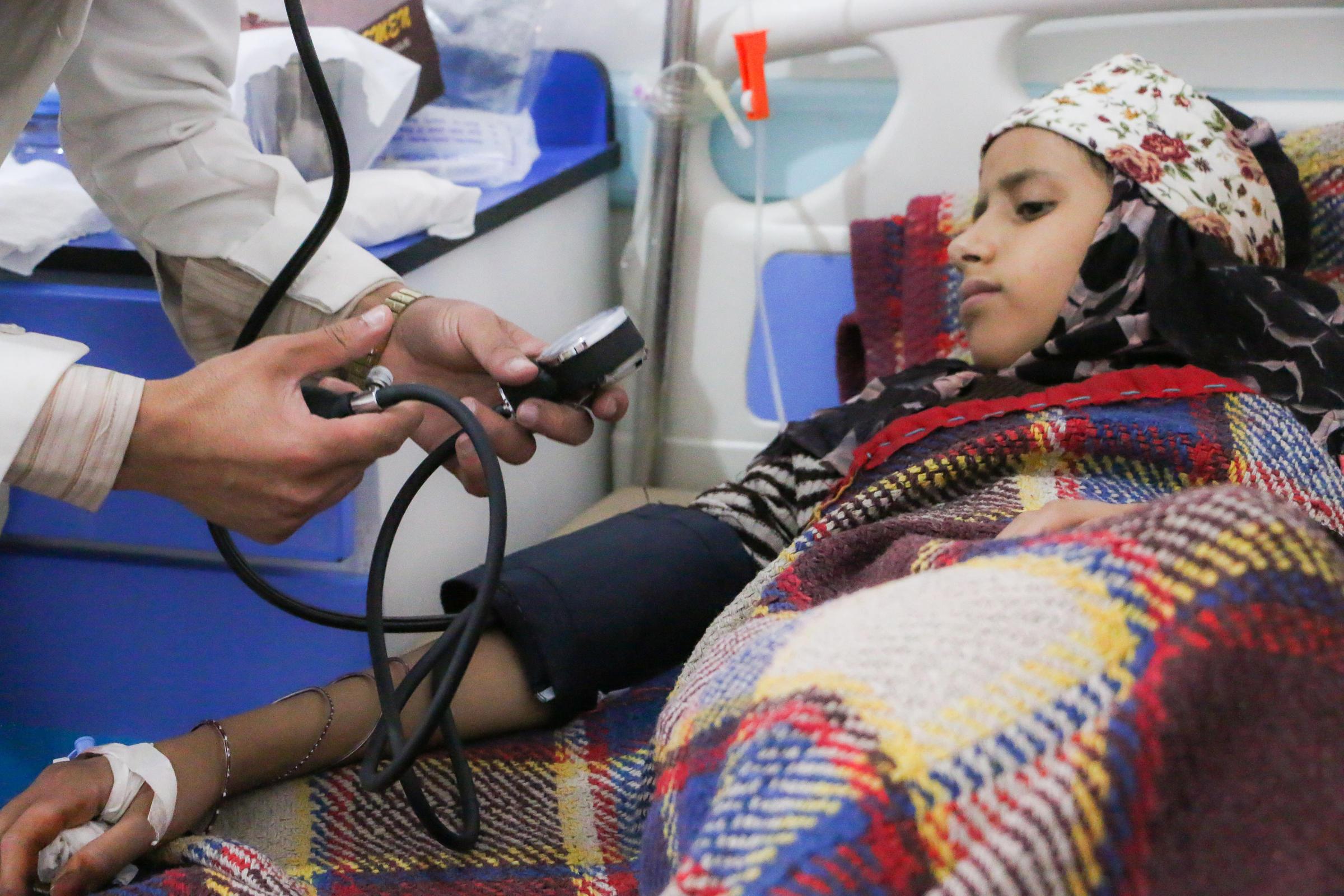 Cholera cases in Yemen pass 100000
