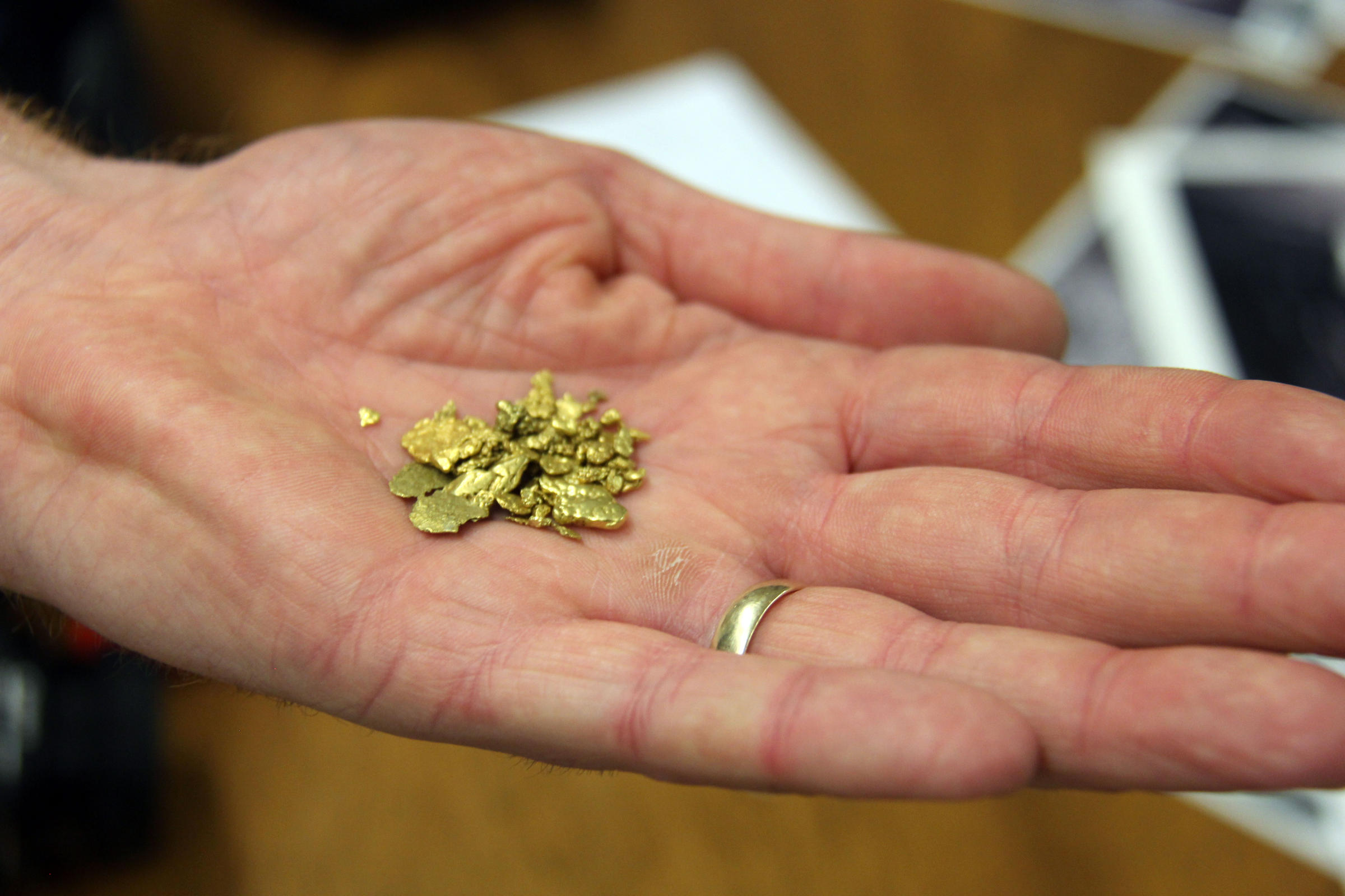 Gold in vermont yup from dynamite to panning heres how its illinski holds out some larger gold nuggets hes collected over the years in vermont brooks he says after tropical storm irene swept away large swaths of publicscrutiny Choice Image