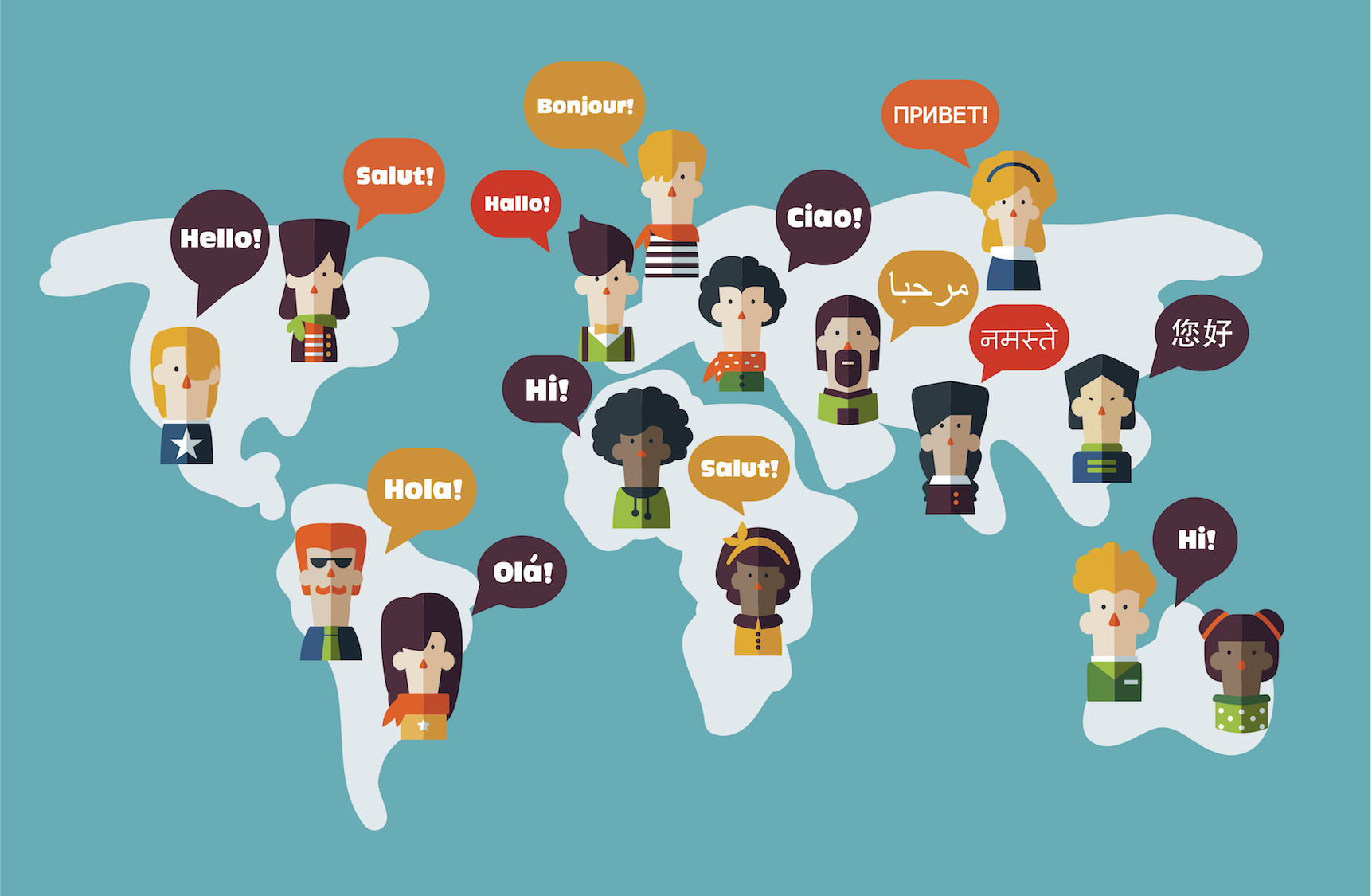Why Are There So Many Different Languages Vermont Public Radio - Languages on earth