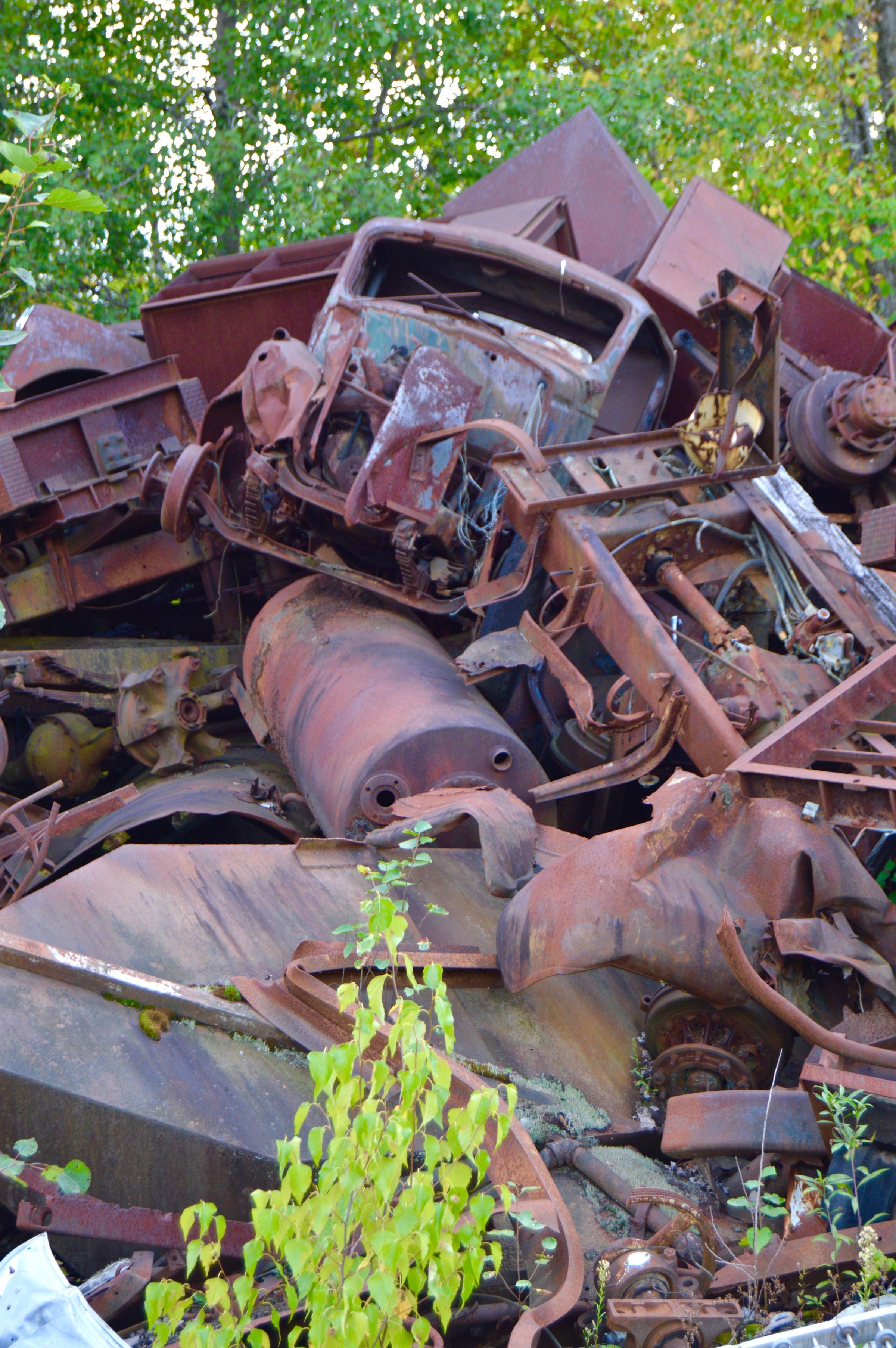 Rutland Scrap Yard Becomes Nirvana For Metal Artists | Vermont ...