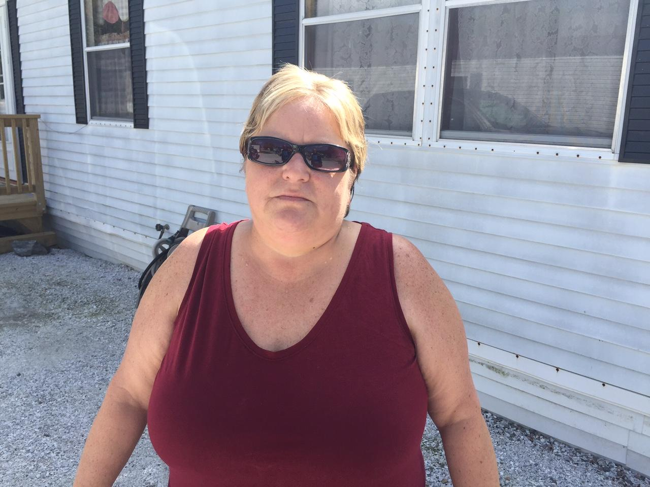 Brenda Thibault Stands In Front Of Her Mobile Home At St George Villa Where The Residents Are Looking Into Forming A Cooperative To Purchase Park