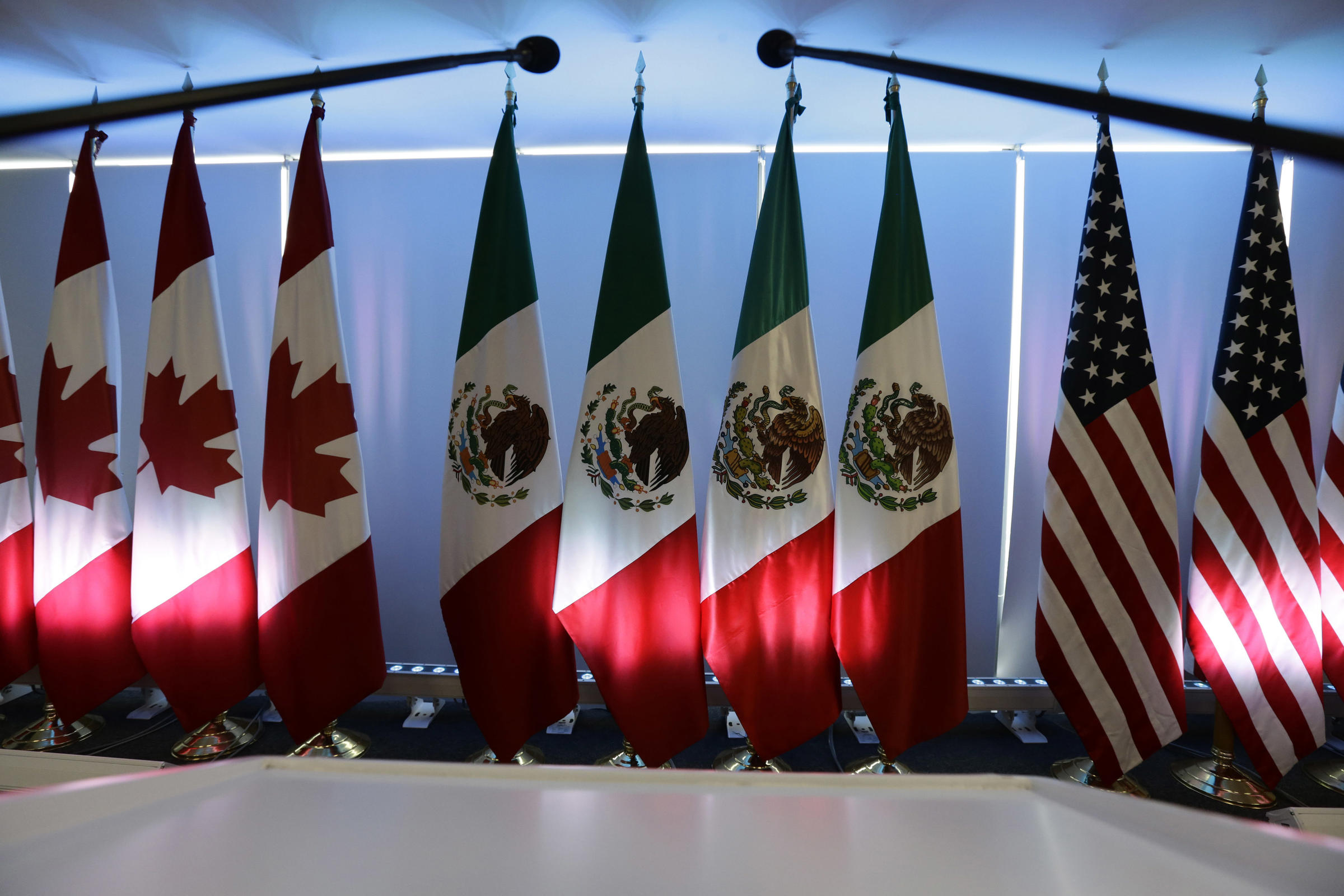 NAFTA talks are progressing very slowly