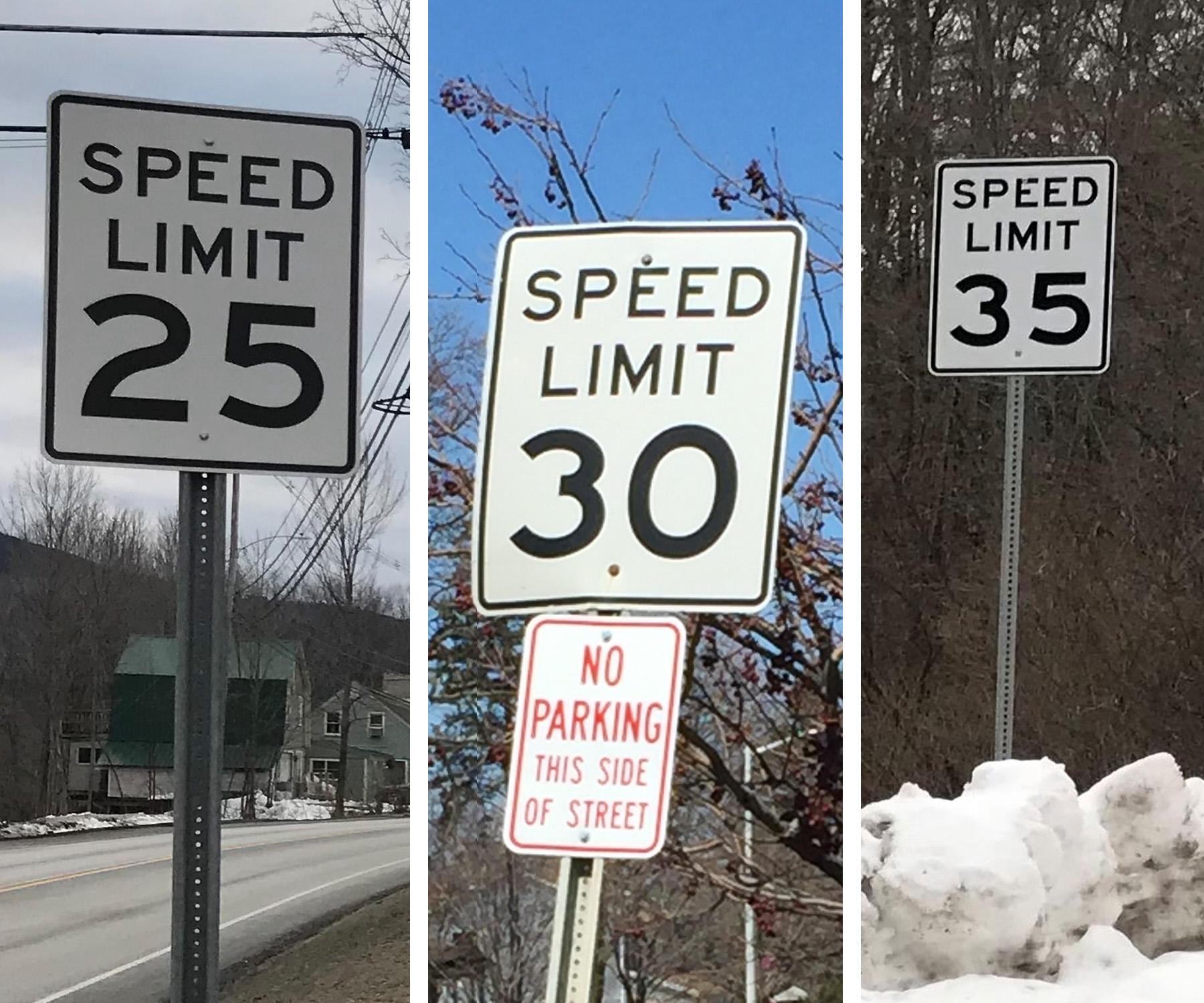 how speed limits get set in vermont vermont public radio