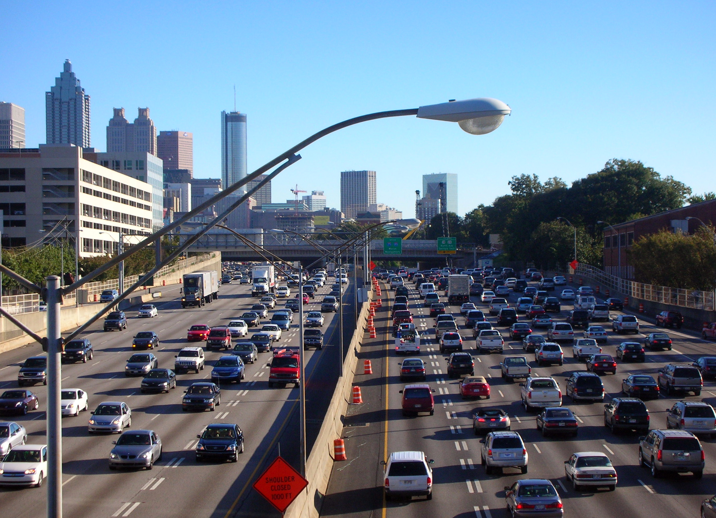 Atlantas Traffic Woes Trace Back To Railroads Land Lotteries - Map of atlanta bypass