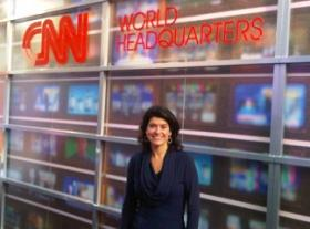 Reporter Hella Hueck of the Netherlands is spending time in Atlanta at CNN.