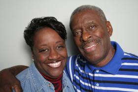Candy and Marvin Williams at StoryCorps Atlanta