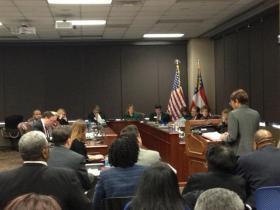 DeKalb School Board Hearing