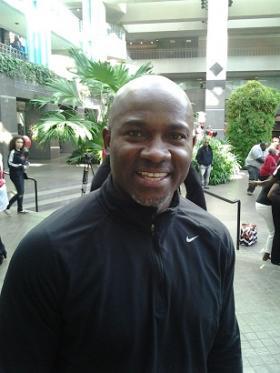Former Atlanta Falcon wide receiver Terance Mathis
