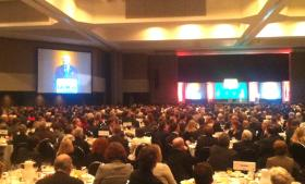 Governor Deal speaks at the Georgia Chamber of Commerce's annual policy breakfast.