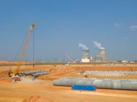 Georgia Power and a group of partners are currently expanding the nuclear power plant at Plant Vogtle near Augusta. Spent fuels rods are kept on site, which environmental groups say increases the risk of radioactive leakage in the event of an accident.