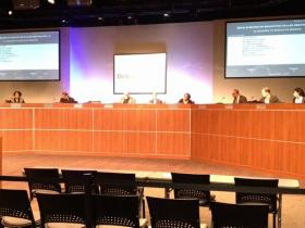 The DeKalb school board meets to address accreditation concerns.