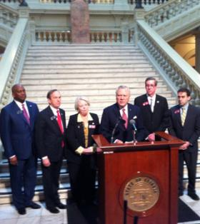 Gov. Nathan Deal, announcing his decision to remove six members of the DeKalb school board.