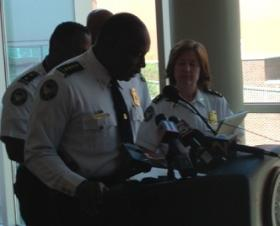 APD Chief George Turner, seen here at a recent press conference talking about allegations of excessive force, fired Off. Nicholas Dimauro in 2011.