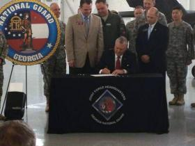 Gov. Nathan Deal signs HB 188
