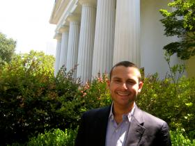 Attorney Anthony Michael Kreis, political co-chair of the Human Rights Campaign-Atlanta.