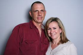 Dan Laterza and Christy Moseley at StoryCorps Atlanta