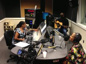 Avery Sunshine chats with WABE's Rose Scott as part of African American Music Appreciation Month.