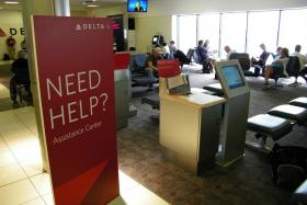 Delta offers to help competitors land at Hartsfield-Jackson Atlanta International Airport.