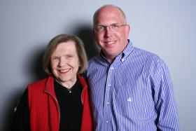 Gail Cameron Wescott and Heyward Wescott at StoryCorps Atlanta