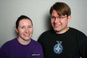 Patrick and Jessica Weiss at StoryCorps Atlanta