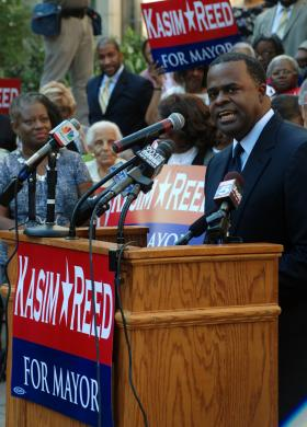 Atlanta Mayor Kasim Reed announced Monday he's running for re-election.