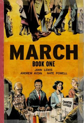 Cover of March, graphic memoir of the life of John Lewis