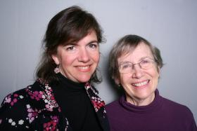 Erika Gonzalez and Ortrude White at StoryCorps