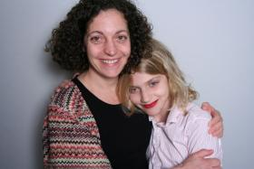 Christine Ristaino and Madeline Smith at StoryCorps Atlanta