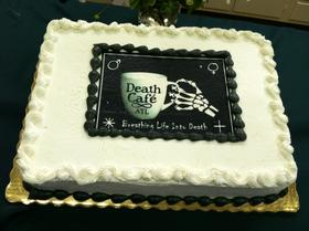 cake at Death Cafe Atlanta