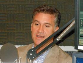 Morgan Kendrick, president of Blue Cross/Blue Shield of Georgia, during an interview in the WABE studios on October 3, 2013.