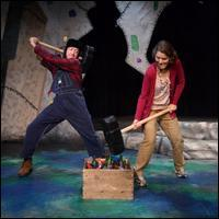 Charles Green and Ellen McQueen (L to R) in Synchronicity Theatre's Milvotchkee, Visconsin
