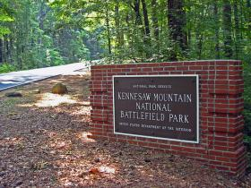 State funds won't be used to reopen national parks like Kennesaw Mountain Battlefield Park, according to the Governor's Office.