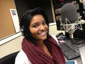 Youth Radio Atlanta commentator Madeline Veira.