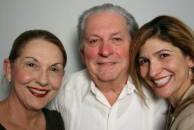 Gabriela Gonzales, Joseph Gonzales and their daughter, Gabriela, at StoryCorps