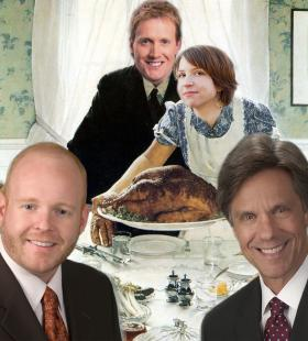 WABE's Thanksgiving stories. With apologies to Norman Rockwell.