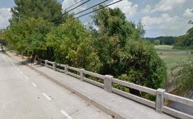 Powers Ferry Road bridge near Chastain Memorial Park (above) is one the bridges most in need of replacement or repair.