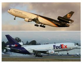 Neither UPS nor FedEx are talking about late Christmas deliveries reported by customers.