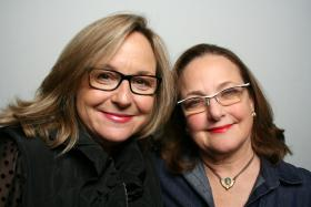 Julie Lococo and Helen Pharr at StoryCorps.