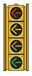 The Perimeter Center area is one of the first locations in Metro Atlanta to use the new left-turn signal configuration, which has been used successfully in several other states.