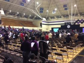 """Around 350 attended Morris Brown's """"Day of Praise and Thanksgiving"""""""