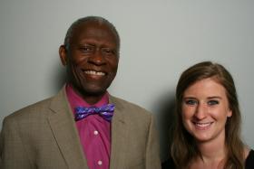 Dr. Lawrence Edward Carter, Sr. and Carolyn Daniel.