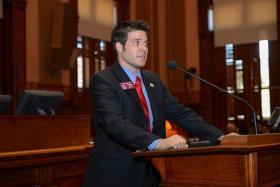 State Rep. Dustin Hightower, R-Carrollton.