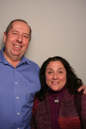 Brian Chapin and Susan Fasshacht at StoryCorps Atlanta