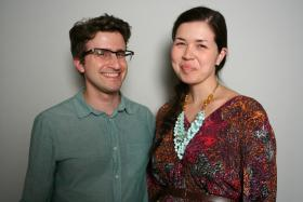 Ivan and Angela DeQuesada at StoryCorps.