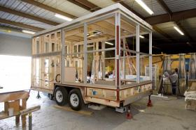tiny house parking. The Savannah College Of Art And Design\u0027s (SCAD) Atlanta Campus Is Getting Ready To Move Some Student Living Quarters Into Parking Spaces. Tiny House E