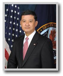 U.S. Veterans Affairs Secretary Eric Shinseki