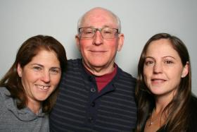 Beth, Jay and Sara Berkelhamer at StoryCorps Atlanta.