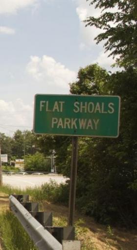 Flat Shoals Parkway at I-285.