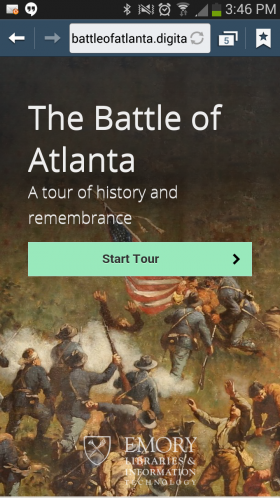 Civil War buffs will love a new app that brings history to the palm of a person's hand.