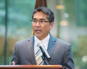Atlanta City Councilman and finance committee chair Alex Wan.